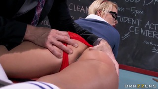 School girl Alexis Monroe gets cock from Johnny Sins thumb