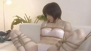 Asian lesbians brake it into a hot bdsm session thumb