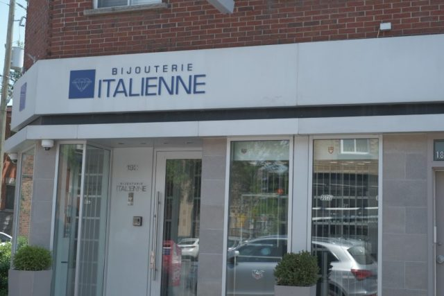 Bijouterie Italienne in Little Italy