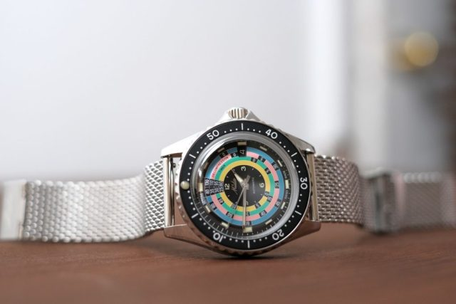 Mido 1961 Decompression Timer full watch photo