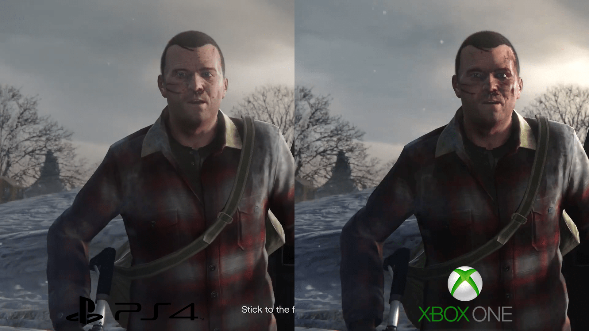 GTA V PS4 Vs Xbox One 1080p Video And Screenshot Comparison Xbox One Version Sightly More Detailed