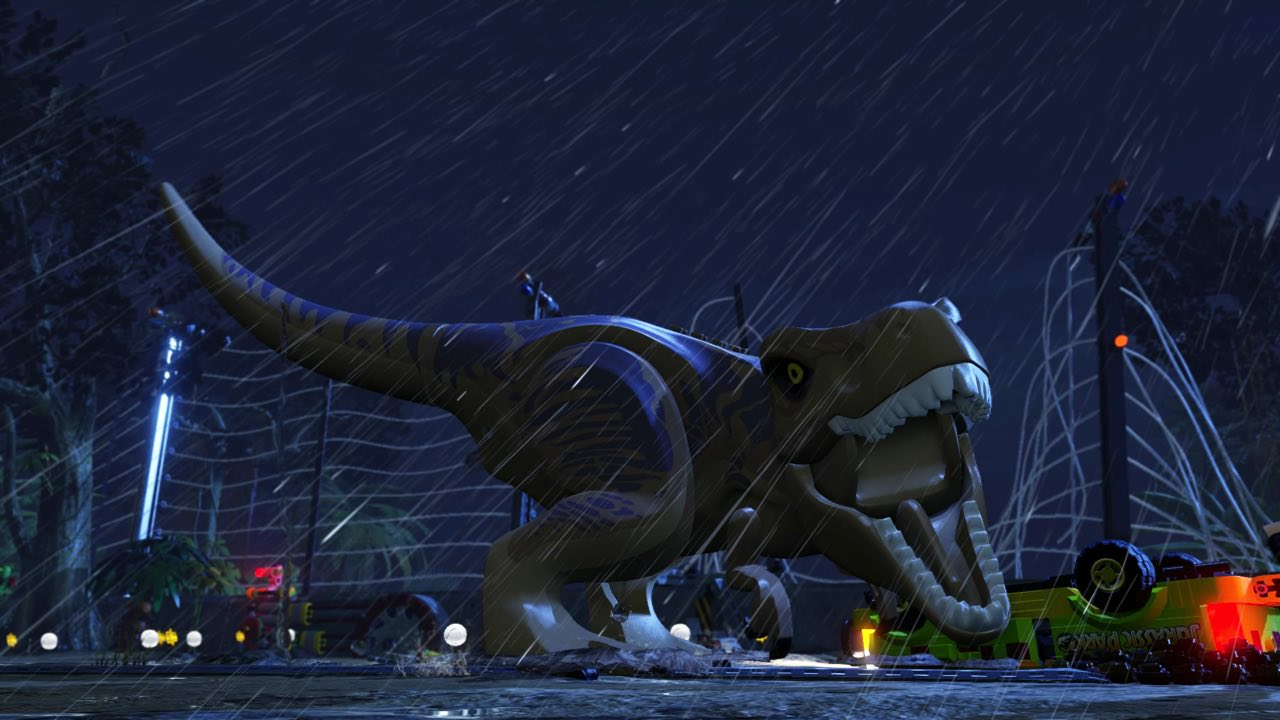 LEGO Jurassic World New Trailer Reveals In Game Footage