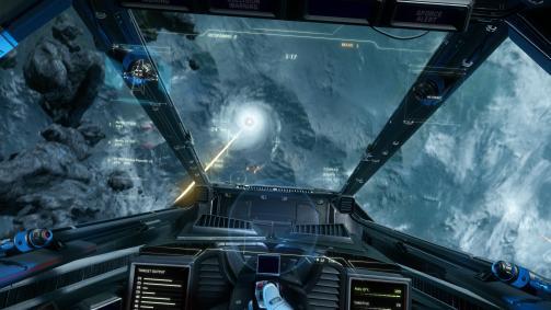 In der fertigen Version soll das ganze Weltall zum Schlachtfeld werden können - bislang ist das nur in bestimmten Arealen möglich