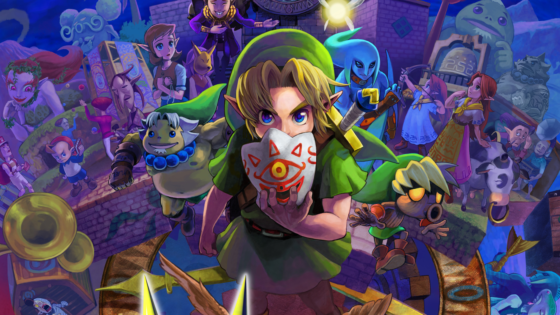 Image result for zelda majora's mask