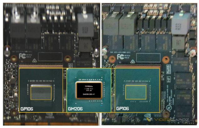 NVIDIA Pascal GP106 GPU