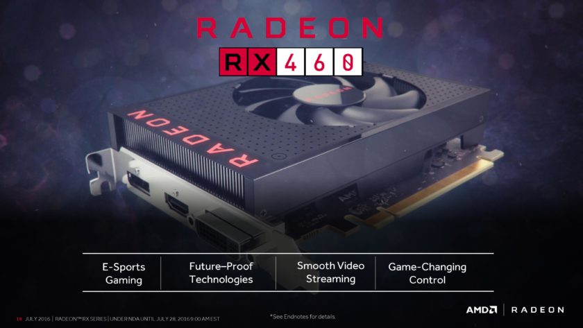 AMD Radeon RX 460_Official_Feature