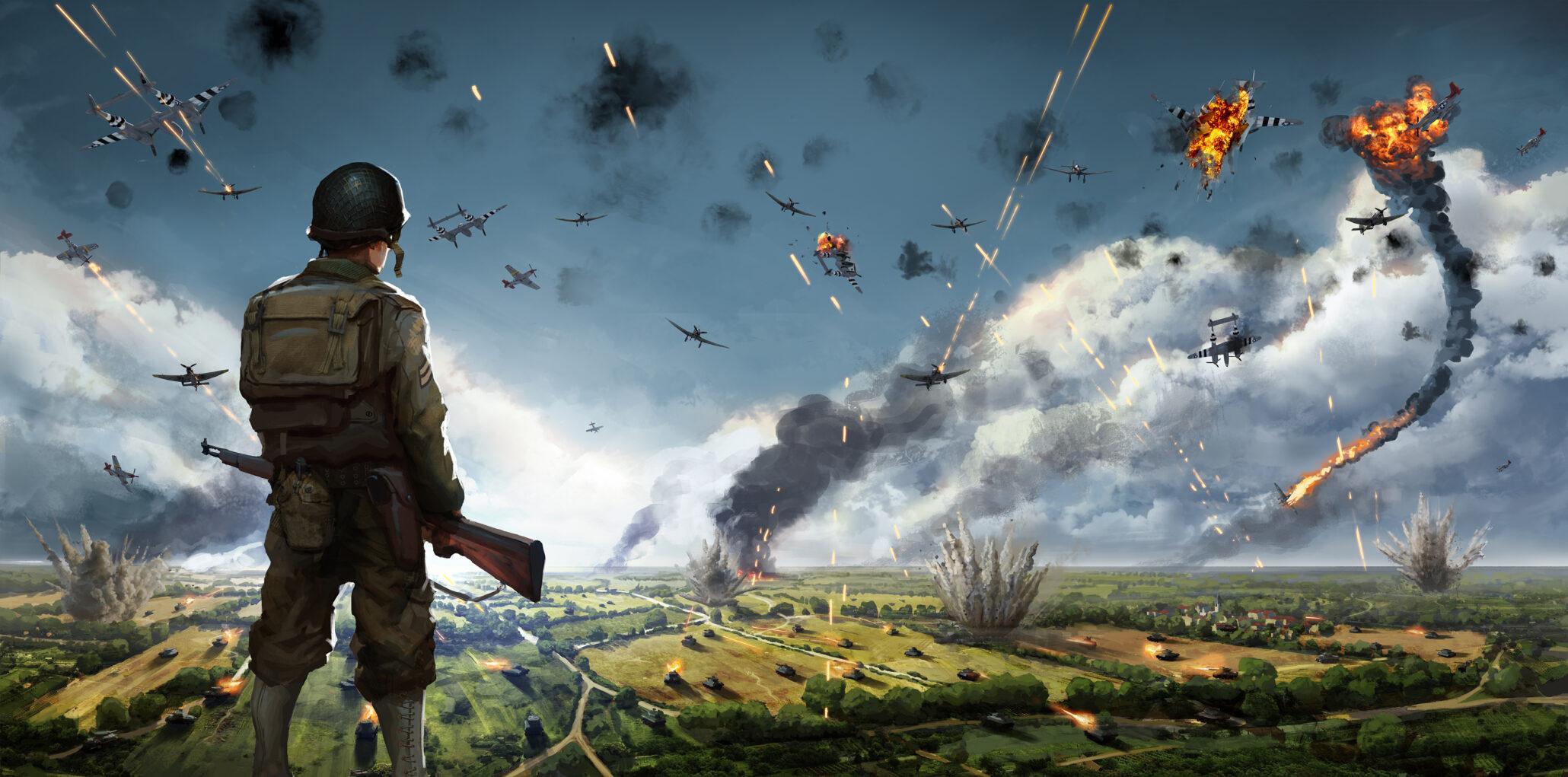 Paradox Interactive Announces New World War 2 Rts Steel