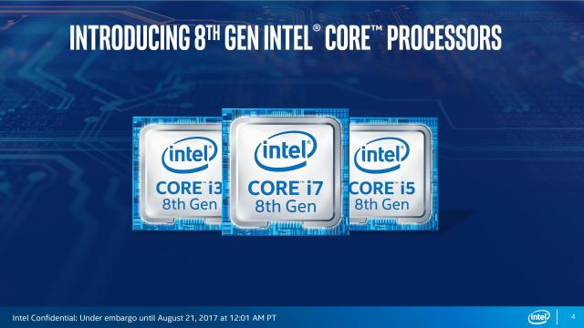 Intel 8th Generation Kaby Lake Refresh 4 Intel Coffee Lake H series CPUs to see the day of light   Thanks to Gigabyte!
