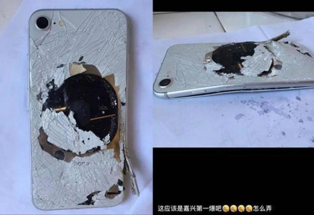 IPHONE 001 1024 iPhone 8 is facing battery malfunction, a lady reported iPhone 8 battery destroy the back with a cracking sound