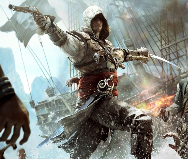 Free Pc Games From Ubisoft This Month Assassins Creed Iv Black Flag And World In Conflict