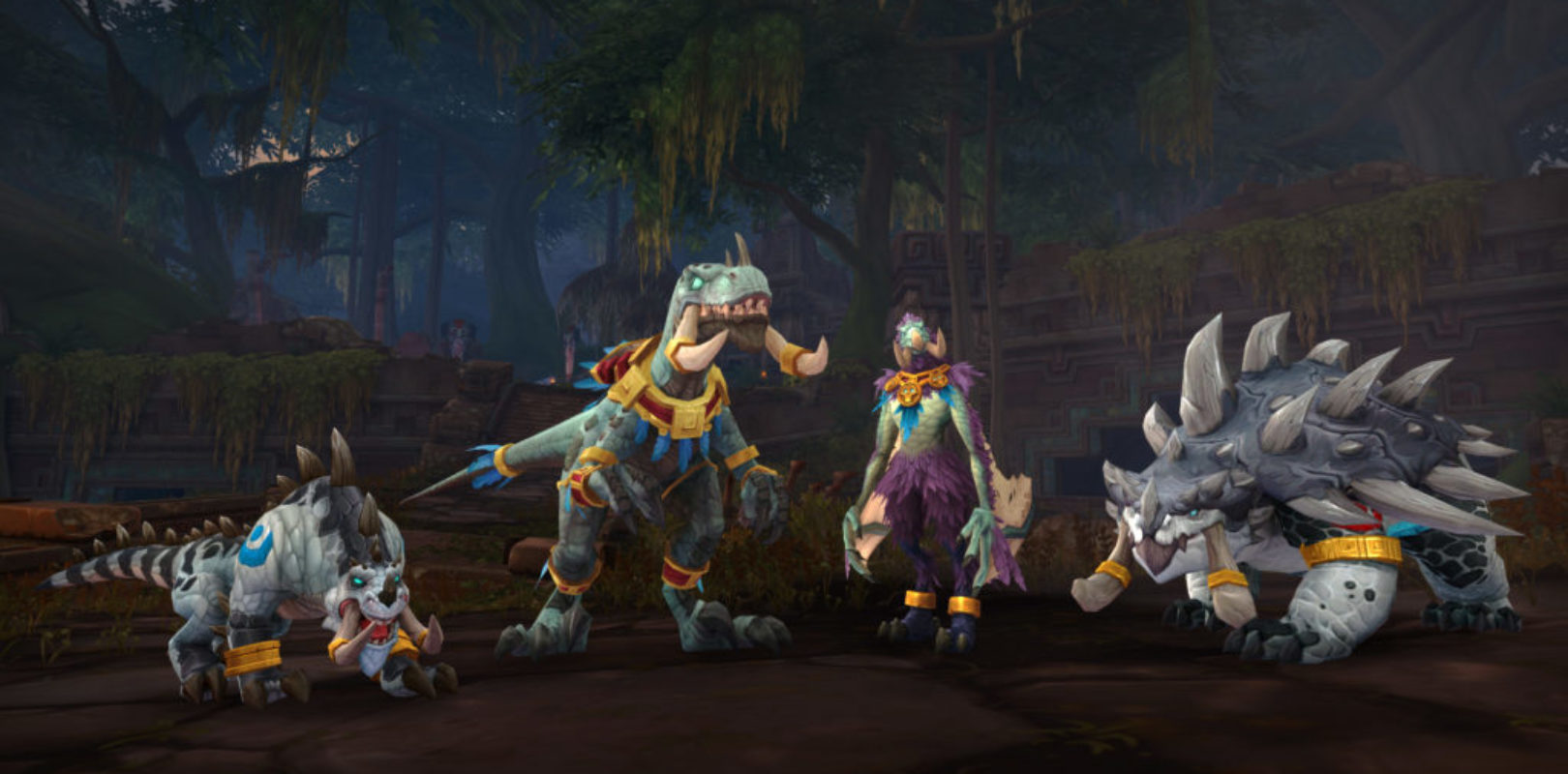 New WoW: Battle For Azeroth Patch 8.2 Adds Zandalari Druid