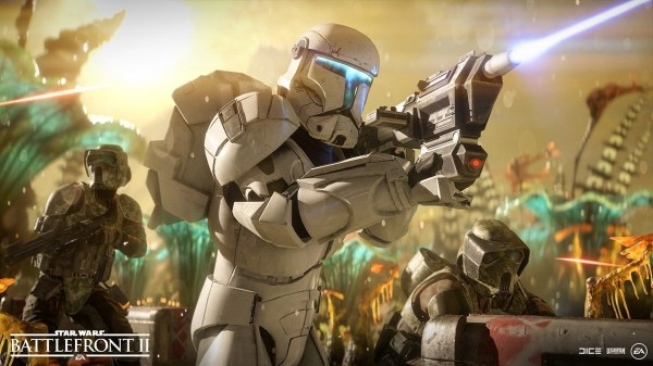 Star Wars Battlefront II Cooperation Update Video Showcases PvE Co-Op, Felucia and Clone Commandos