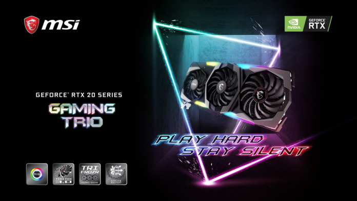 MSI Unveils GeForce RTX 2080 Ti Gaming Z Trio With 16 Gbps GDDR6