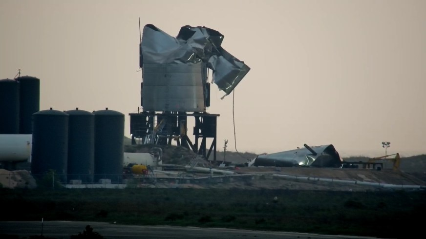 SpaceX Starship Site Struck By Lightning – SN4 Prototype ...