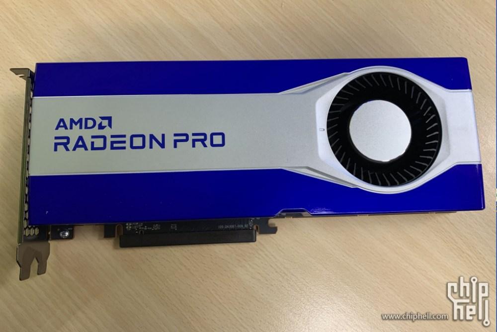 AMD Radeon Pro Graphics Card Menampilkan Big Navi 21 GPU & 16 GB GDDR6 Memory