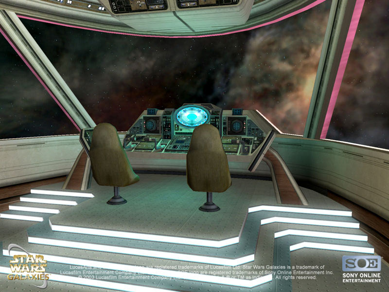 Star Wars Galaxies Jump To LightSpeed Launched Wing Commander CIC