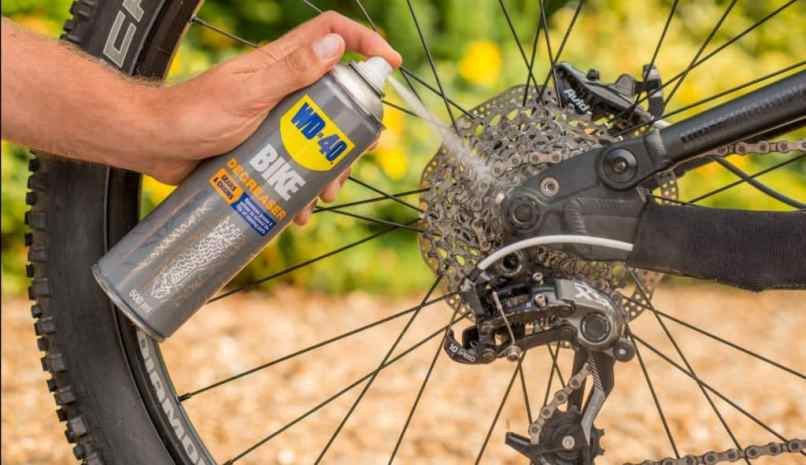 How To Clean Your Bike Chain With Wd 40