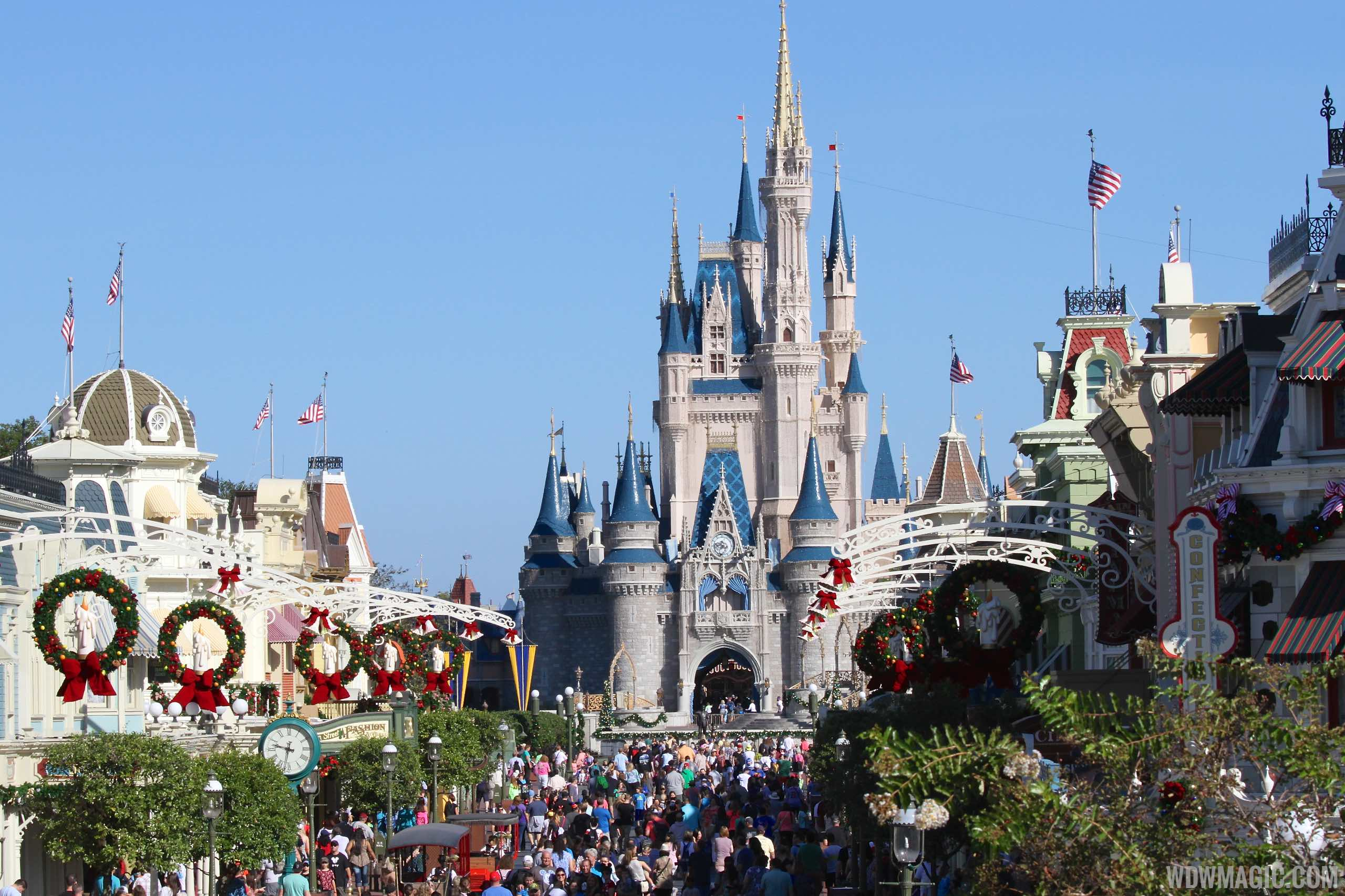 Disney Parks Christmas Decorations