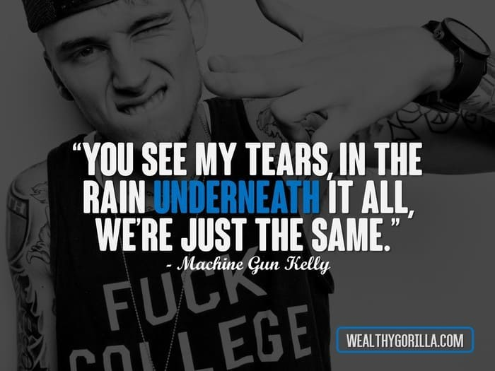 Hip Hop Quotes - MGK Quotes
