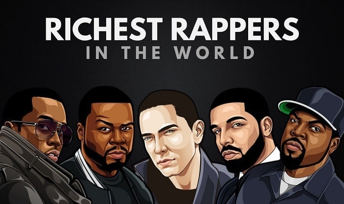 The 25 Richest Rappers in the World