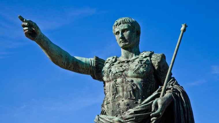 האנשים המשפיעים ביותר - יוליוס קיסר