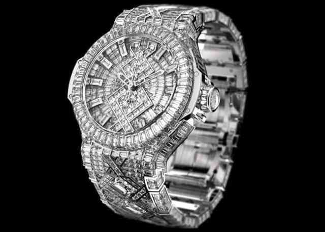 Most Expensive Watches - Hublot Big Bang Diamond