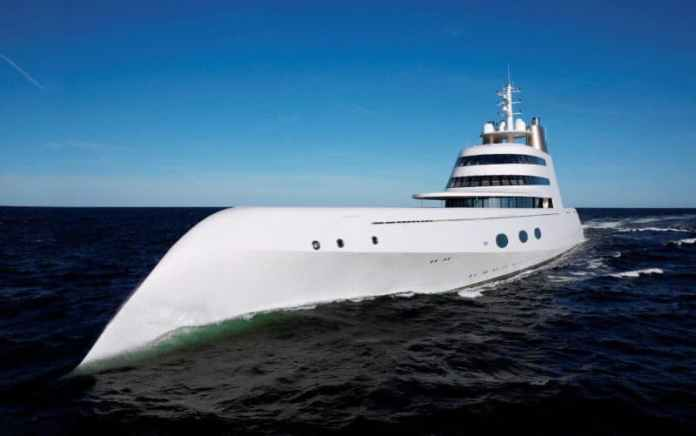 Most Expensive Yachts - Motor Yacht A