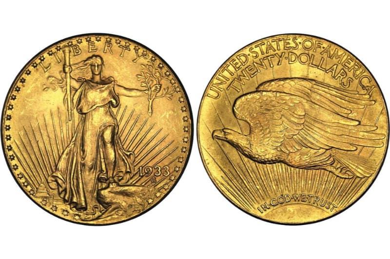 Moedas Mais Caras - Double Eagle (1933)