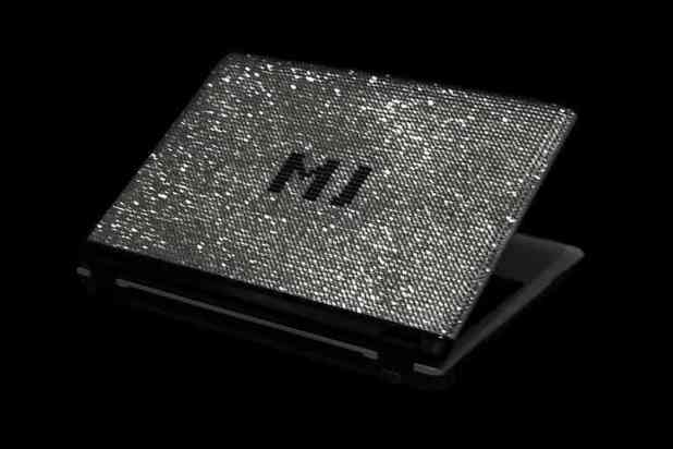 Most Expensive Laptops - MJ'S Swarovski & Diamond Studded Notebook