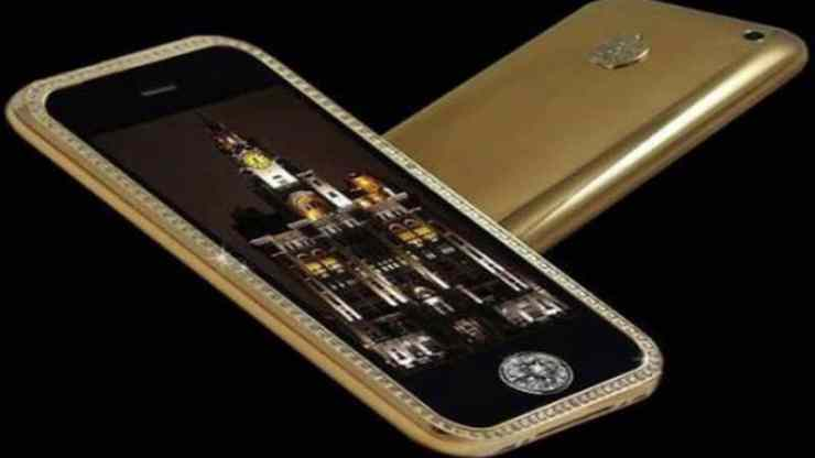 Most Expensive Phones - Goldstriker iPhone 3GS Supreme