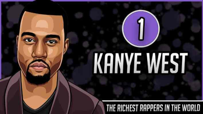 Richest Rappers in the World - Kanye West