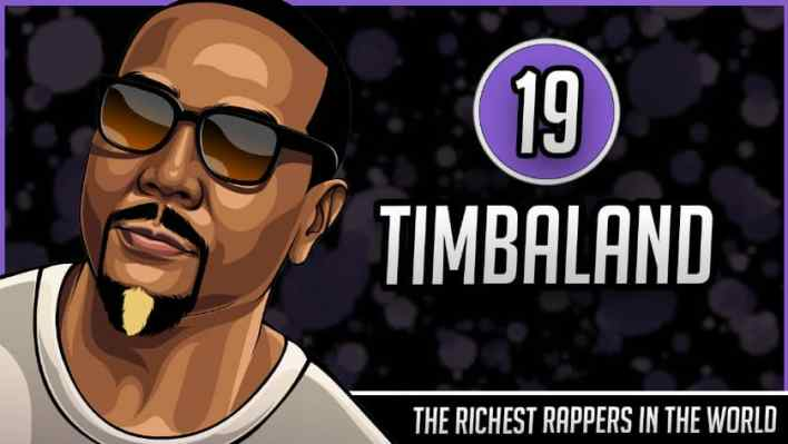 Richest Rappers in the World - Timbaland