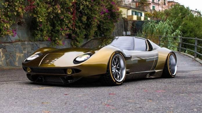 Most Expensive Lamborghinis - Miura Concept