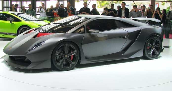 Most Expensive Lamborghinis - Sesto Elemento Concept