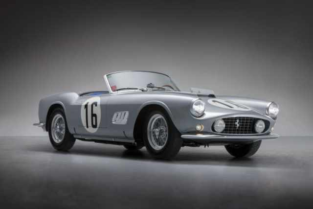 Most Expensive Ferraris - 1959 Ferrari 250 GT LWB California Spider Competizione