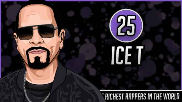 Richest Rappers in the World - Ice T