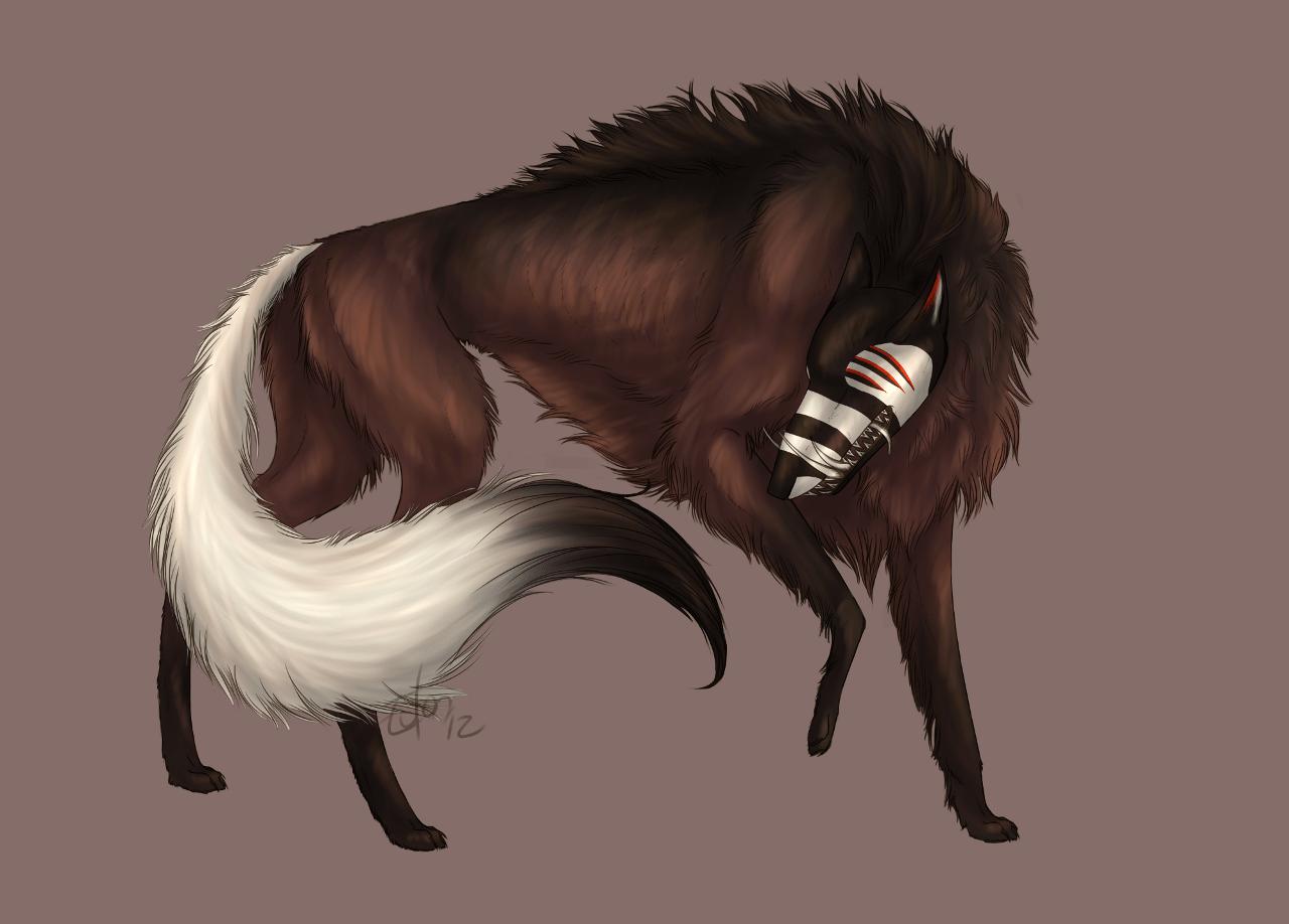 Laughing Wolf Weasyl