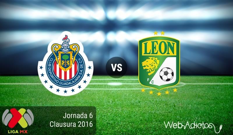Chivas vs León, Jornada 6 del Clausura 2016 de la Liga MX - chivas-vs-leon-clausura-2016