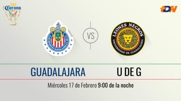 Chivas vs Leones Negros UDG en la Copa MX Clausura 2016   Llave 2 de Vuelta - chivas-vs-leones-negros-udg-en-vivo-copa-mx-clausura-2016
