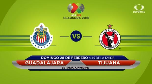 Chivas vs Tijuana, Jornada 8 del Clausura 2016 | Liga MX - chivas-vs-tijuana-en-vivo-por-televisa-deportes-en-el-clausura-2016
