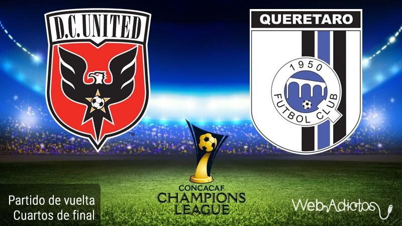 DC United vs Querétaro, Concachampions 2016   Cuartos de final - dc-united-vs-queretaro-en-concachampions-2016