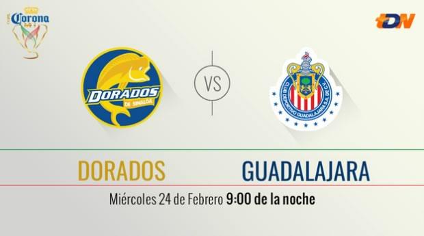 Dorados vs Chivas, Llave 3 de la Copa MX Clausura 2016 - dorados-vs-chivas-por-tdn-en-internet-copa-mx-clausura-2016
