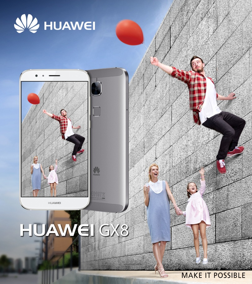Huawei GX8, con características innovadoras en diseño, cámara y lector de huella - huawei-gx8