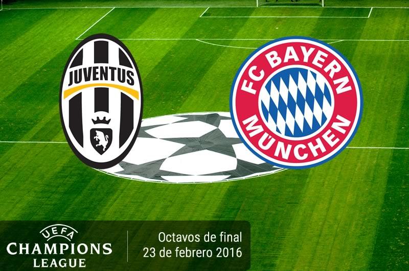 Juventus vs Bayern Munich, Octavos de Champions 2016 | Partido de ida - juventus-vs-bayern-munich-champions-league-2015-2016