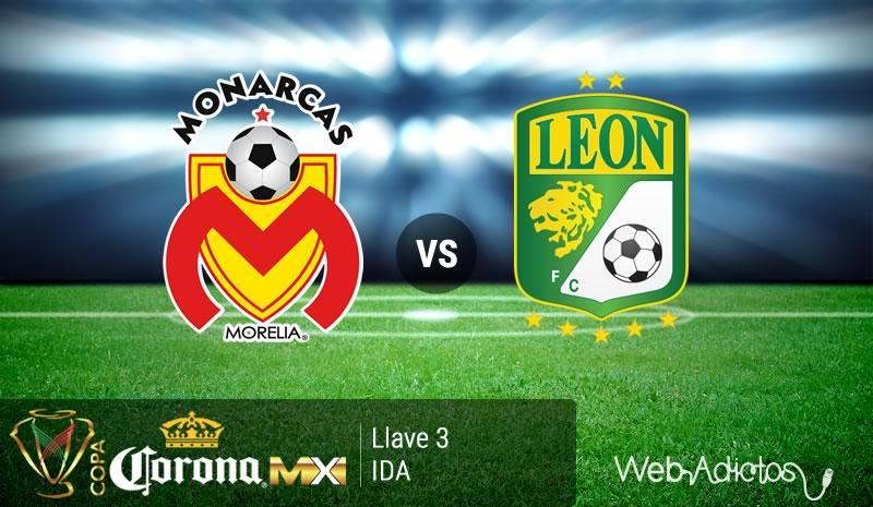 Morelia vs León, Jornada 5 de la Copa MX Clausura 2016 - monarcas-morelia-vs-leon-en-la-copa-mx-clausura-2016