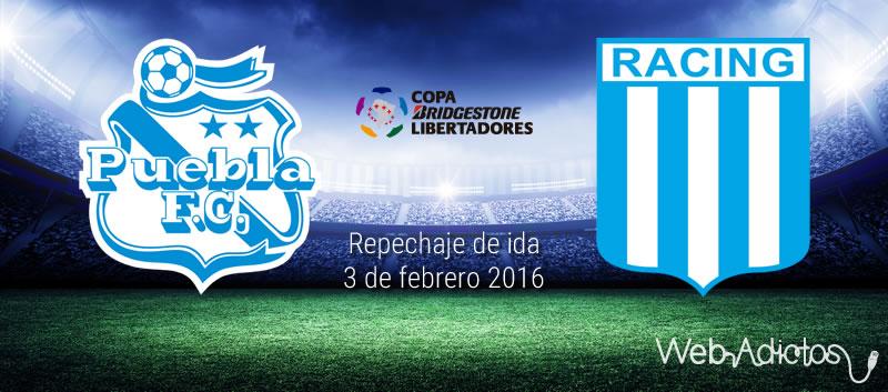 Puebla vs Racing, Copa Libertadores 2016 | Repechaje de ida - puebla-vs-racing-copa-libertadores-2016-ida