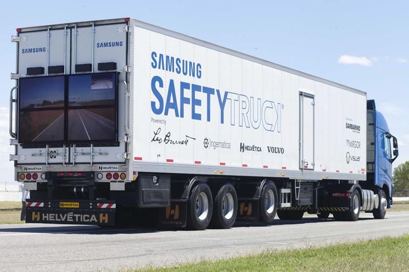 Samsung presentó su Safety Truck en Argentina - samsung-safety-truck