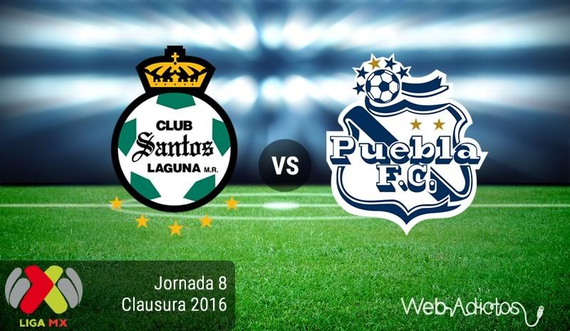 Santos vs Puebla, Fecha 8 del Clausura 2016   Liga MX - santos-vs-puebla-jornada-8-del-clausura-2016
