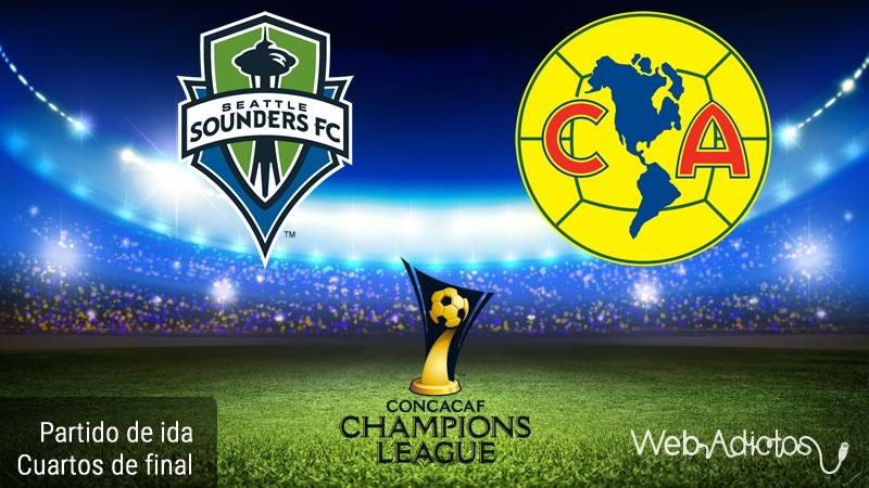 Seattle vs América, Concachampions 2016 | Cuartos de final - seattle-sounders-vs-america-concachampions-2016