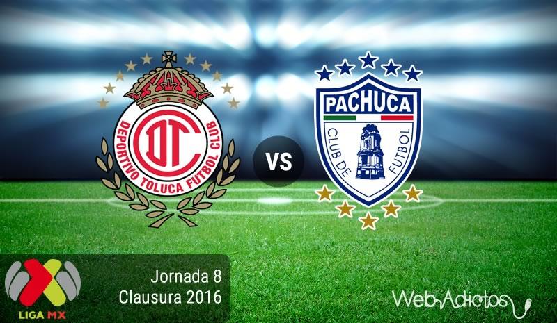 Toluca vs Pachuca, Fecha 8 del Clausura 2016   Liga MX - toluca-vs-pachuca-jornada-8-del-clausura-2016